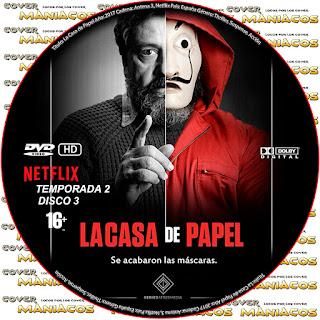 GALLETA 3 [SERIE TV] LA CASA DE PAPEL TEMPORADA 2