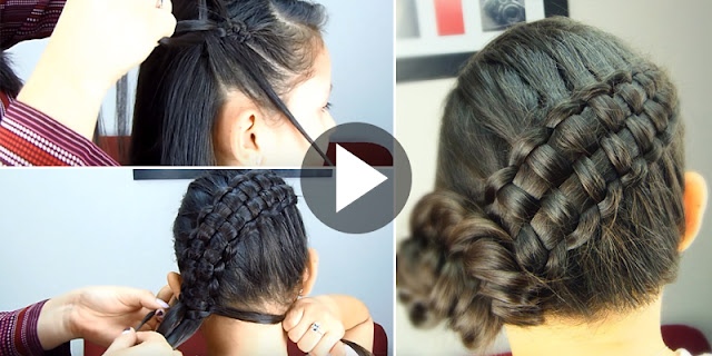 Learn - How To Create Quick And Easy Double Braid Hairstyle, See Tutorial