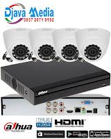 Pemasangan CCTV Salatiga -Ambarawa - Boyolali ( paket 4 Cam Dahua Copper 1080 )