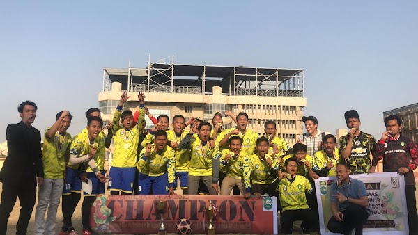 Tuan Rumah Sumatra Cup XV 2019, KSMR Kembali Sabet Gelar Juara