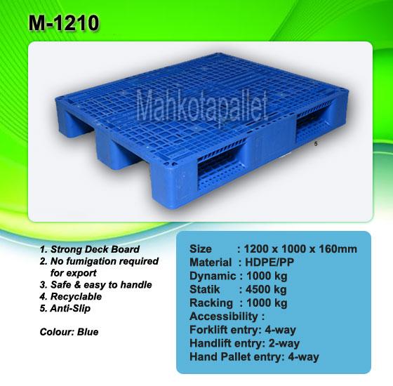 Pallet Plastik M1210