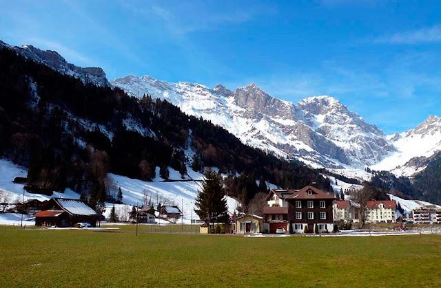 Alpes Suiços nas redondezas de Milão