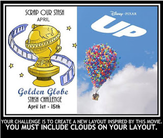 April Golden Globe Inspired Stash Challenge