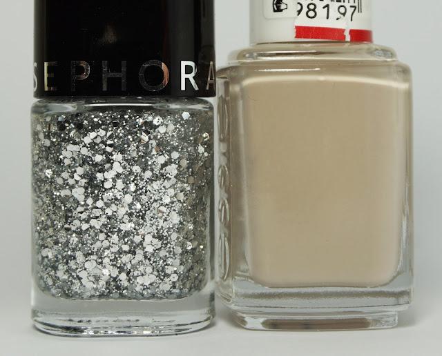 Essie - Sand Tropez, Sephora - Silver Fever