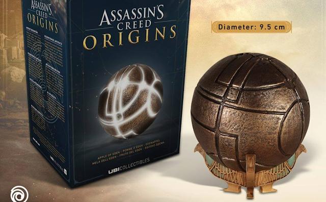 Presentado el Fruto del Edén de Assassin's Creed Origins