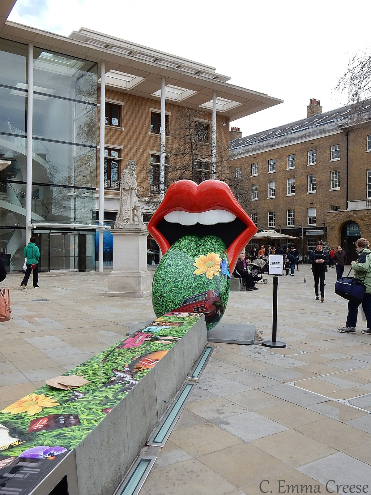 Rolling Stones Exhibitionism Duke of York Square Adventures of a London Kiwi