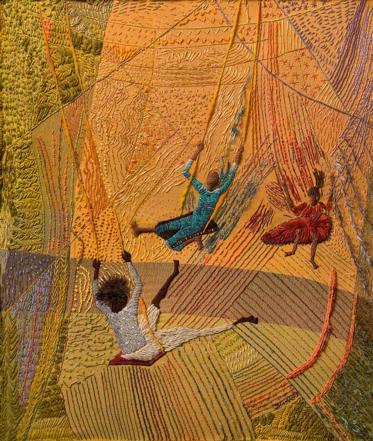Original artwork by Matizes Dumont, featured on Feeling Stitchy by Julia Titchfield