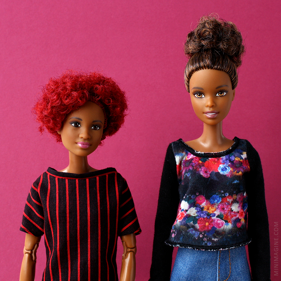 Barbie Made To Move and Fashionistas
