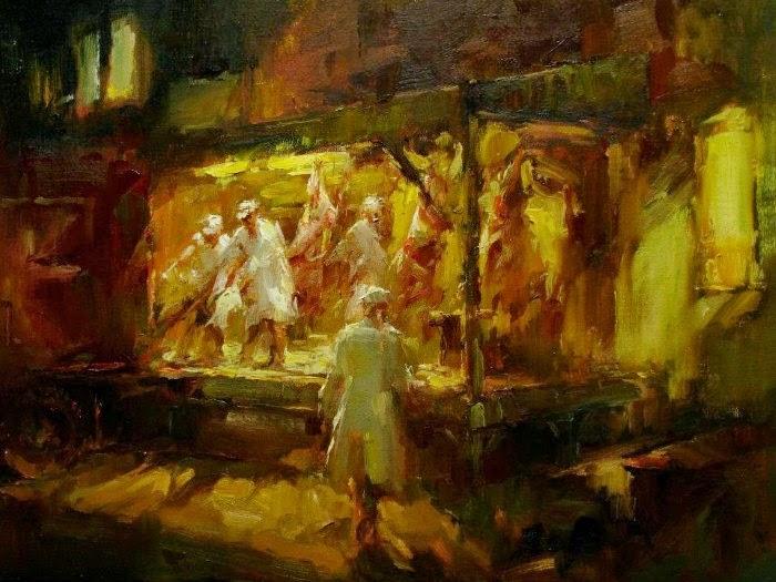 Американский художник. Ted Smuskiewicz