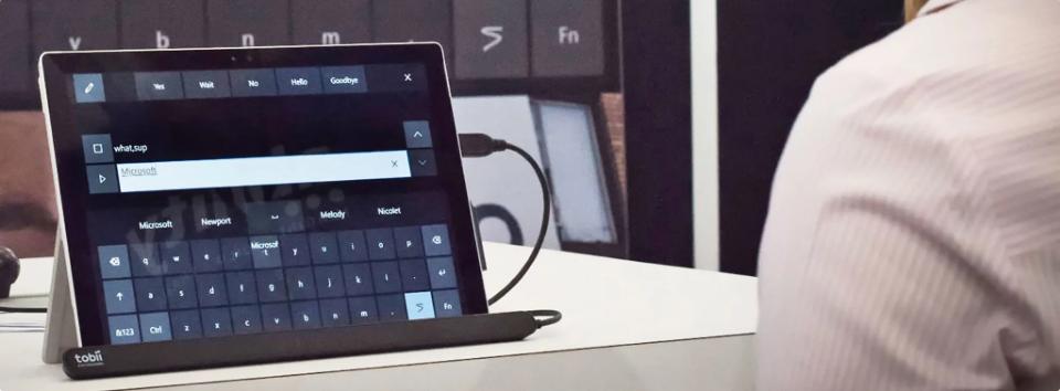 Windows 10 có thêm tính năng điều khiển trỏ chuột, bàn phím