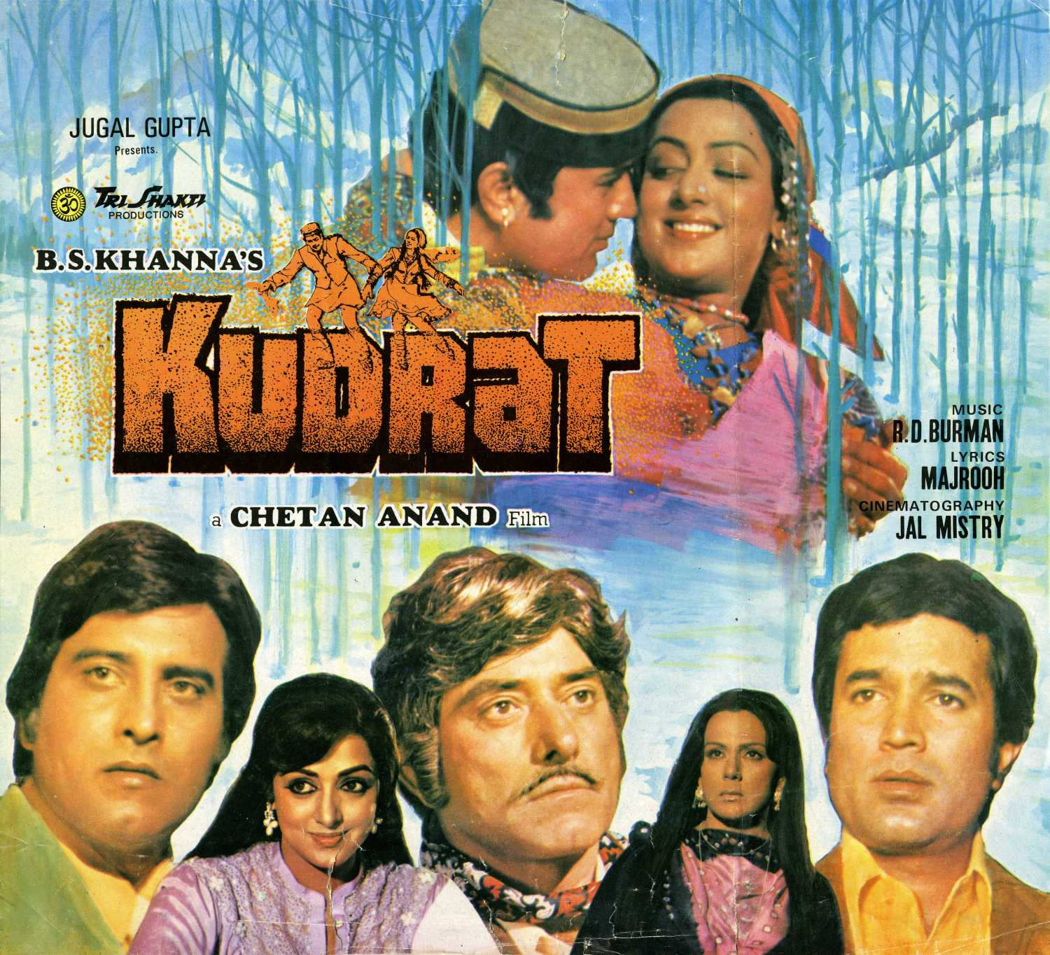 Kudrat (1981) Hindi Movie 720p HDRip 1.1G
