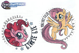 MLP Tattoo Card 12 MLP the Movie Trading Card