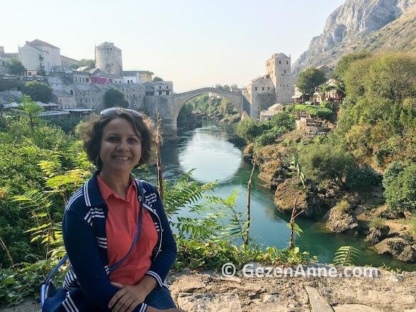 Neretva nehri ve Mostar köprüsü, Bosna Hersek