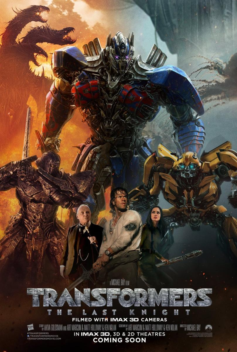 Transformers: The Last Knight [2017] [DVDR] [NTSC] [Latino]