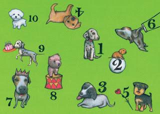rima los diez perritos