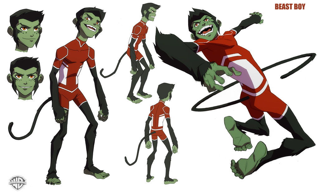 doom patrol beast boy on young justice