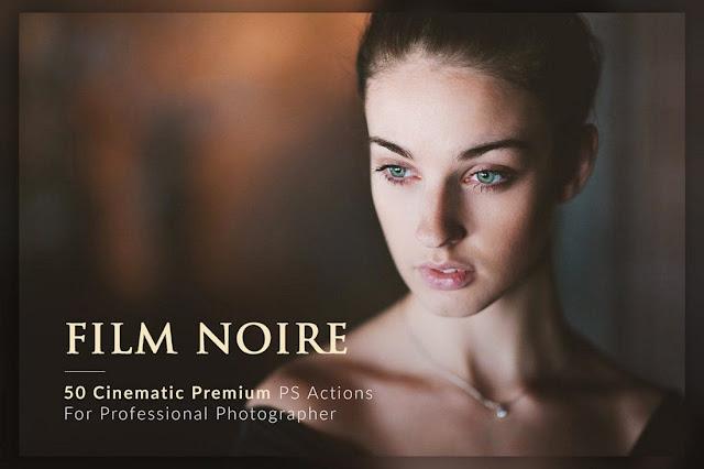 Film Noir PS Actions Bundle, photoshop action untuk film, movie