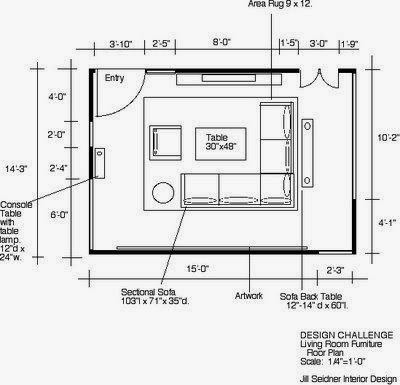 Engr1304 creating architectual blueprints - Living room furniture layout planner ...