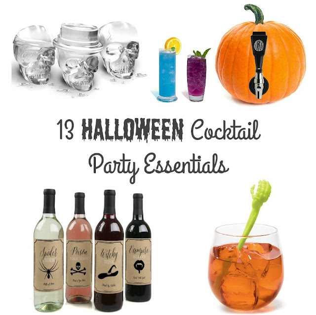 Each of these 13 Essentials for Your Halloween Cocktail Party come in at under $20, & they are all available via Amazon Prime!