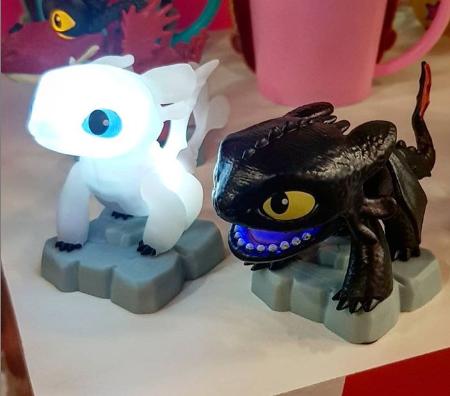 Luminárias como treinar seu dragão