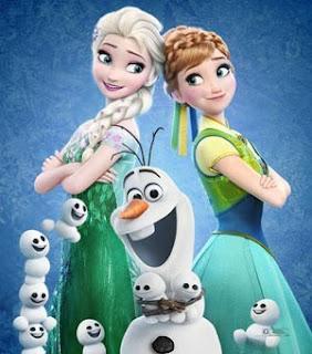 Gambar Frozen Minion Lucu