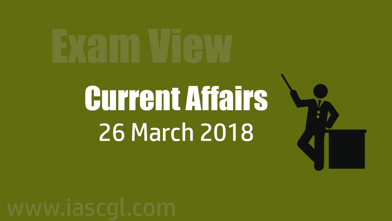 Current Affair 26 march 2018