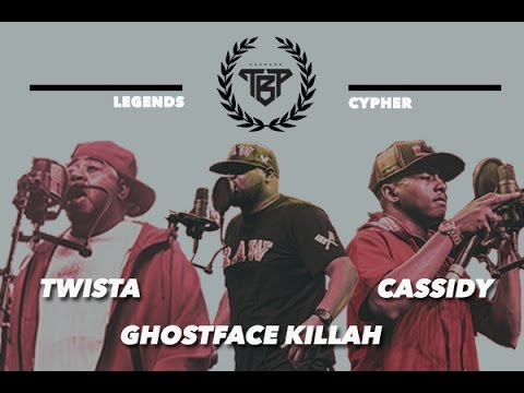 VIDEO - Legends Cypher / Twista, Ghostface Killah, Cassidy