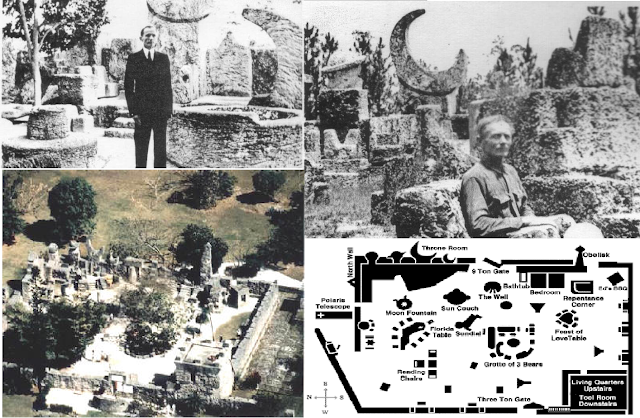 coral castle, magneto, occult