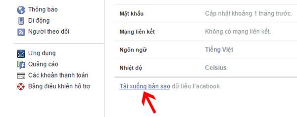 Cách lấy lại tin nhắn bị xóa trên facebook