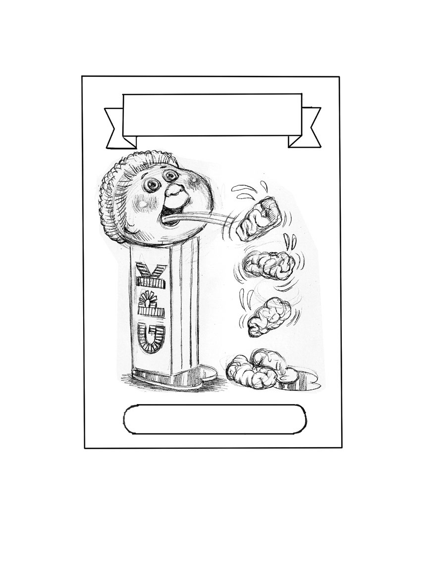 garbage pail kids coloring pages - photo#18