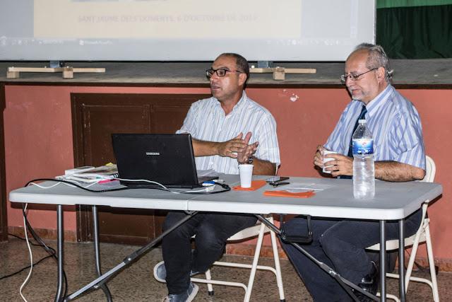 Esguard de Dona - Jaume Borràs en un moment de la seva conferència titulada L'altra cara dels Borbons, des d'Alfons XX fins ara