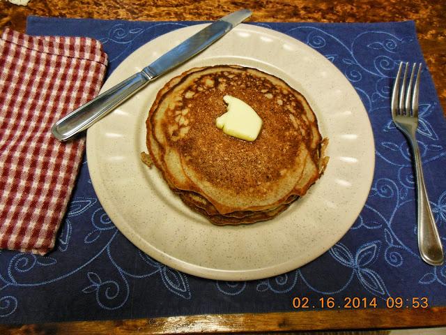 Sourdough Pancakes, use up extra starter.