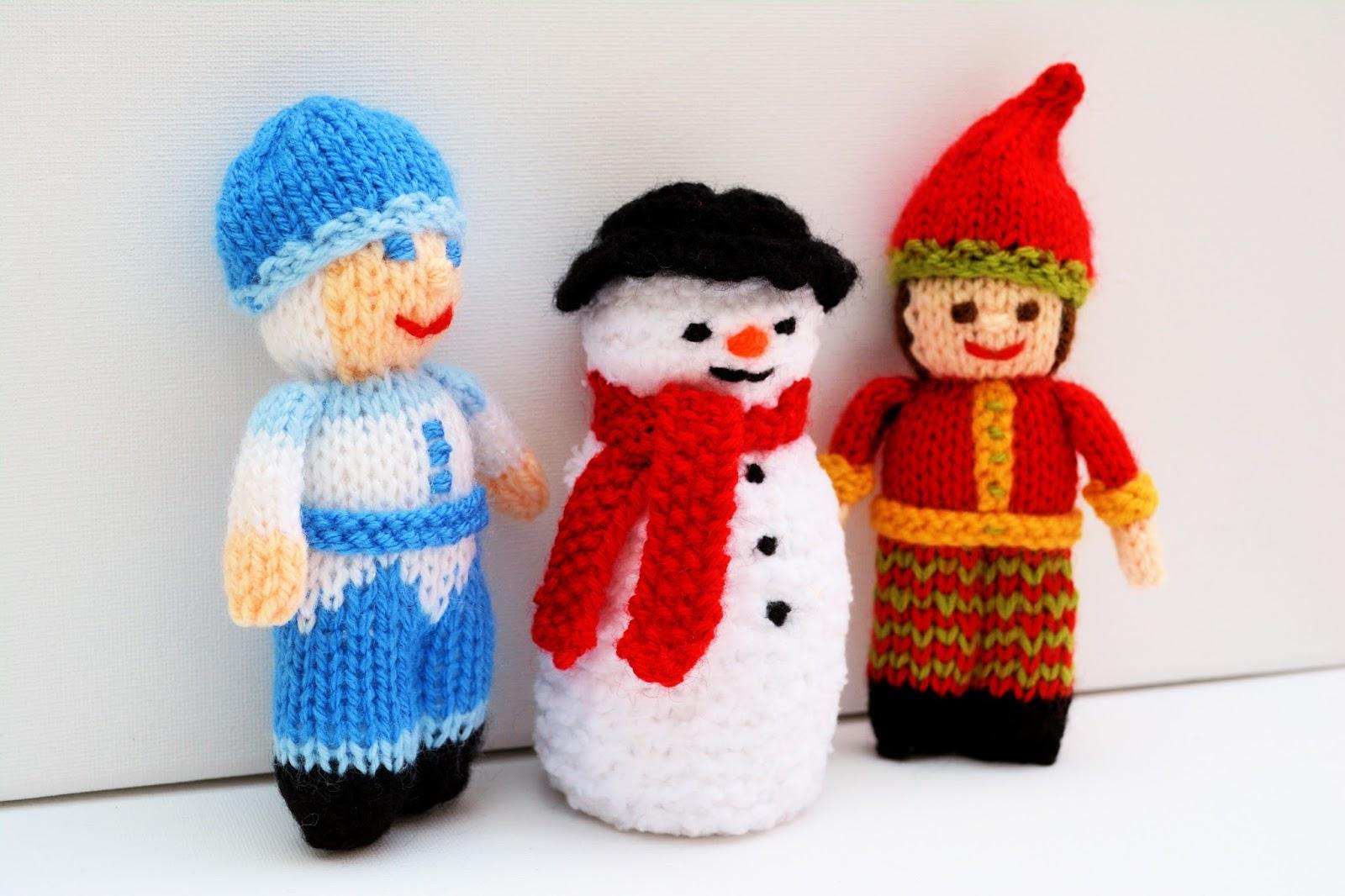 Edith Grace Designs: Jack Frost Doll, Snowman Doll & Christmas Elf Doll K...