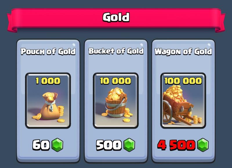 Tukar Gem dengan Gold