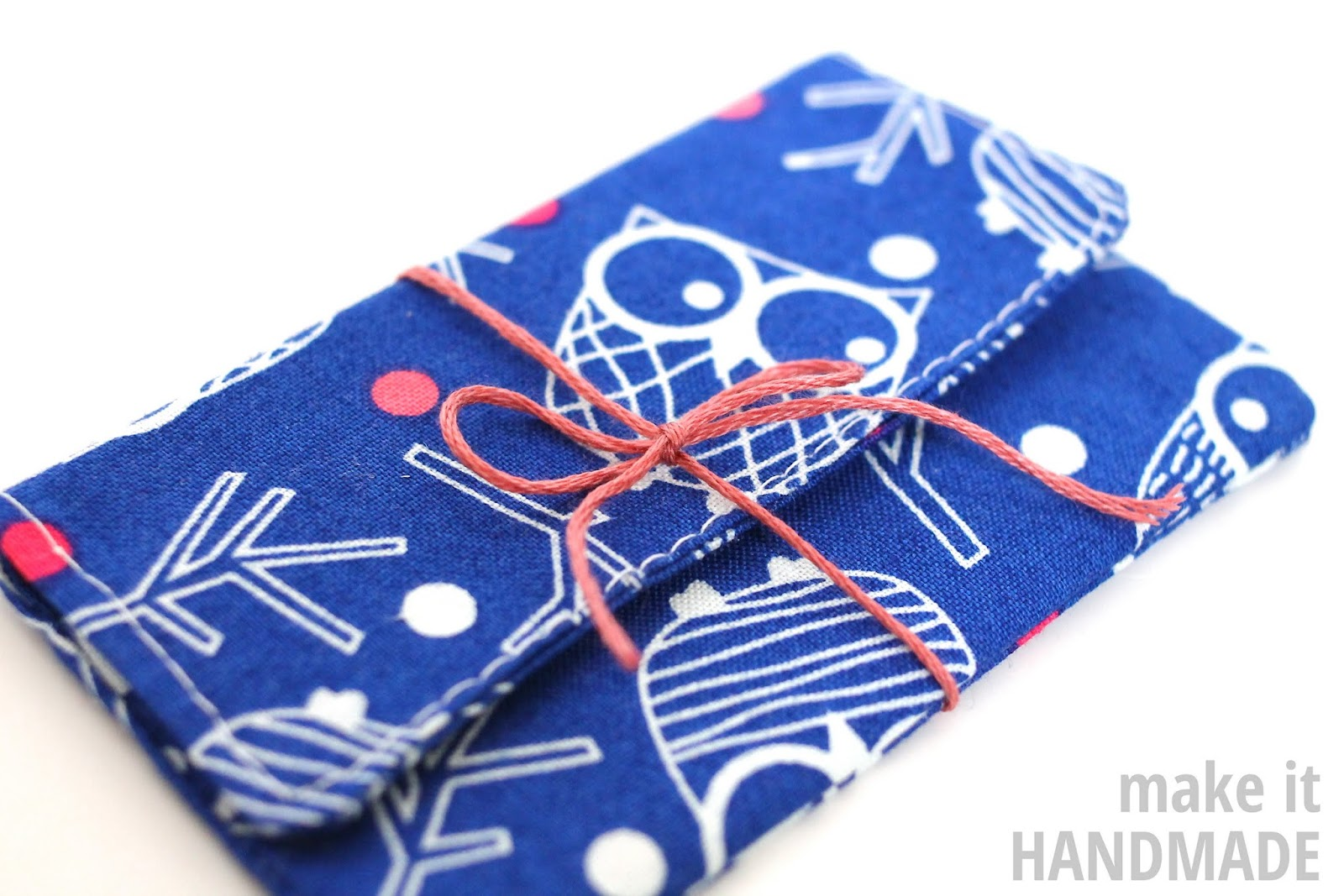 Sew A Gift Card Holder So Sew Easy