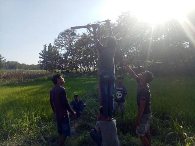 Songsong Ramadhan, Pemuda Jatipandak Mendadak Jadi Menteri Penerangan