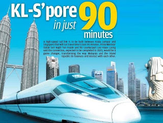 Singapore-Malaysia high-speed railway