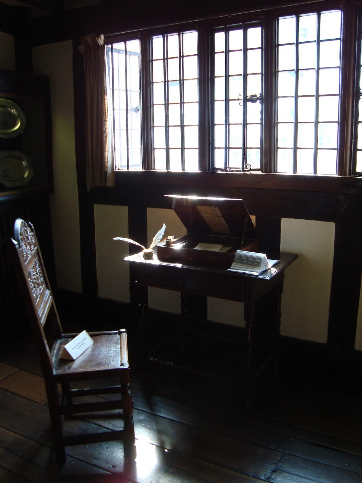 shakespeare's study at nash house