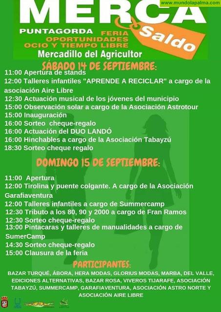 Merca-Saldo abre este fin de semana en Puntagorda
