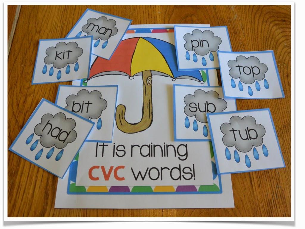 Blog Hoppin Spring Umbrella Cvc Cvce Word Sort And