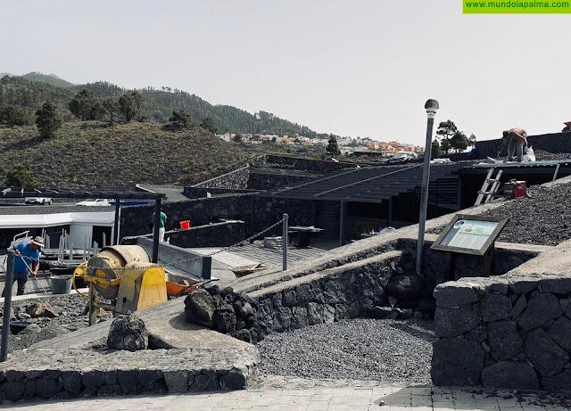 El Ayuntamiento de Fuencaliente concluye la rehabilitación del Centro de Visitantes del Volcán San Antonio
