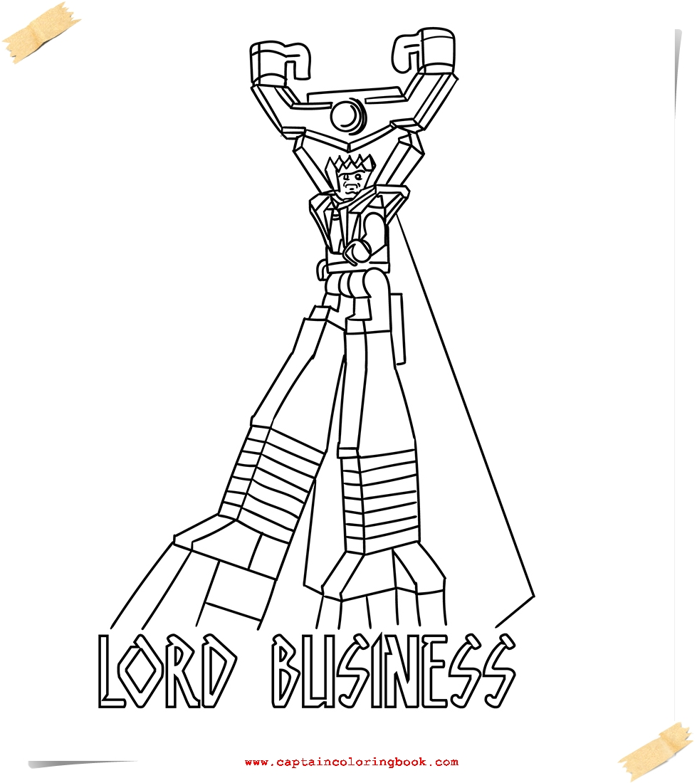 Lego Movie Coloring Pages Coloring Page