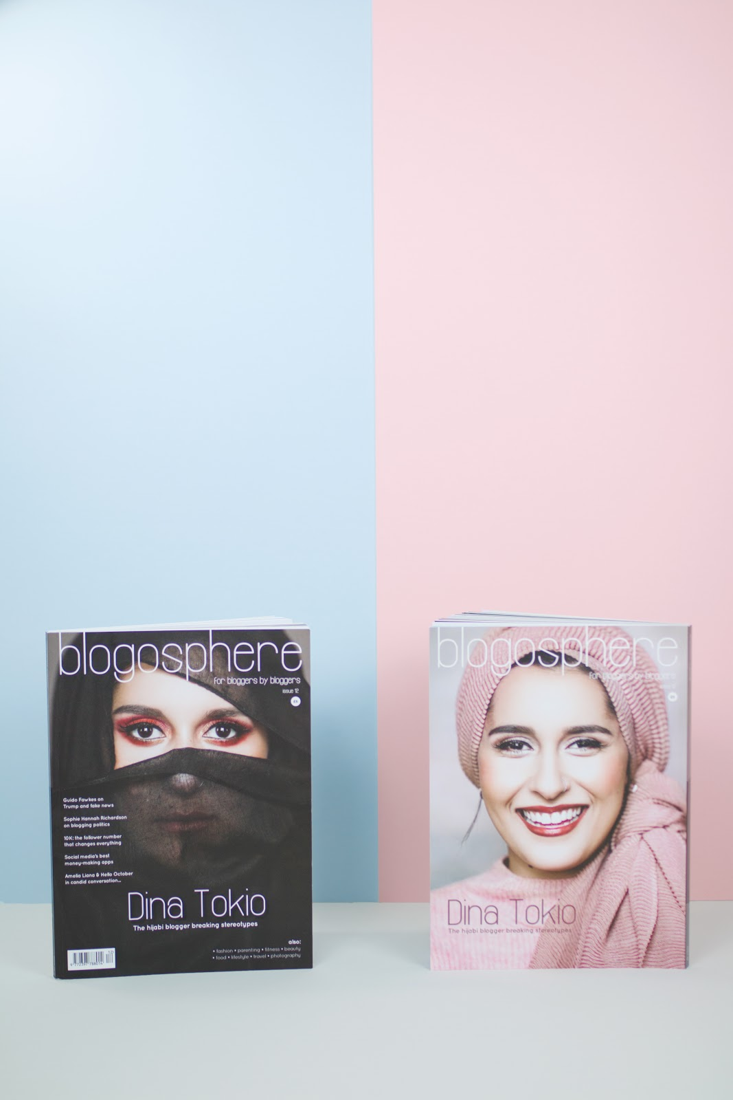 I'M IN BLOGOSPHERE MAGAZINE ISSUE 12!