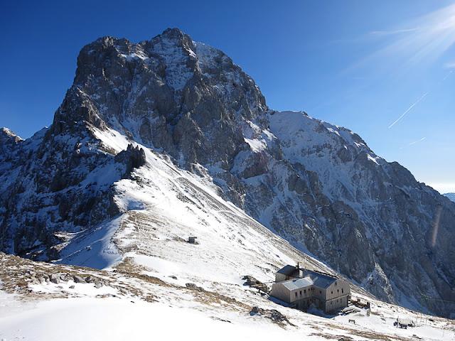 Kamniško Sedlo zimski vzpon