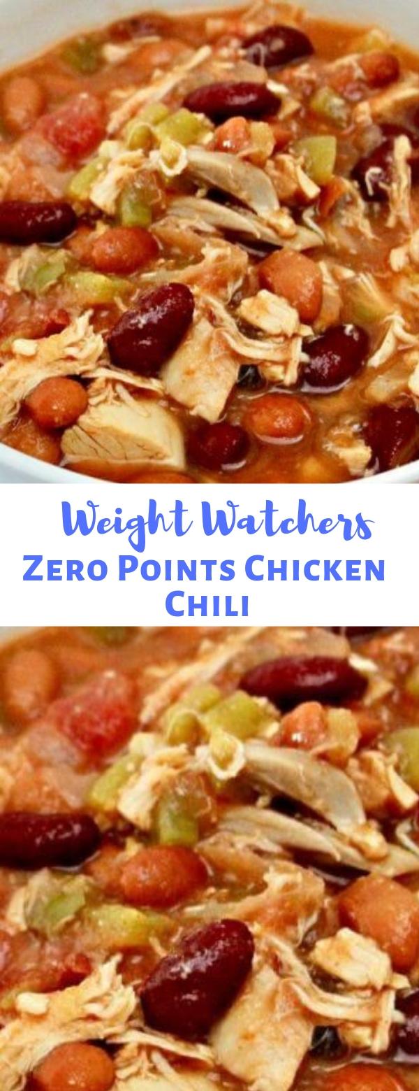 Weight Watchers Zero Points Chicken Chili