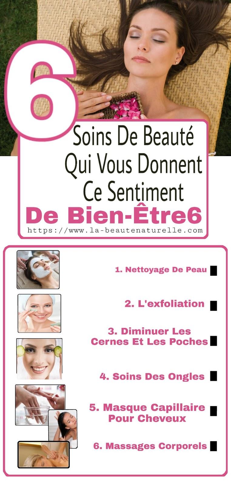 6 Soins De Beauté Qui Vous Donnent Ce Sentiment De Bien-Être6