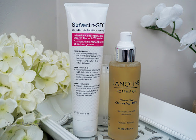Strivectin Intensive Concentrate, Lanoline Rosehip Oil Cleansing Milk