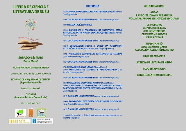 II FERIA DE CIENCIA Y LITERATURA DE BUEU