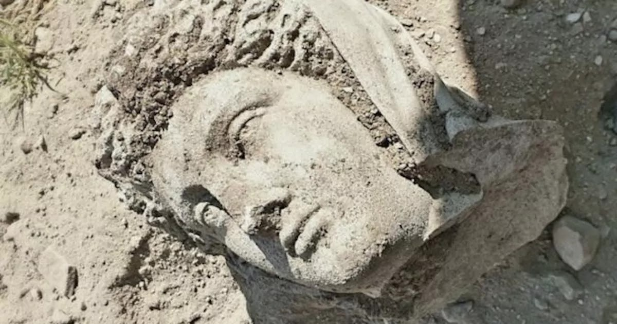 3rd Century Female Byzantine Sculpture Unearthed In Ancient City In Turkey Where Women Were Once At The Very Top Of The Social Hierarchy
