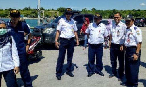 Jelang Lebaran, KNKT Pantau, Kesiapan Pelabuhan Di Selayar